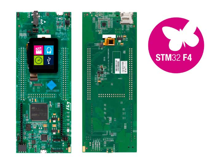 ST STM32F412G Discovery — Zephyr Project Documentation