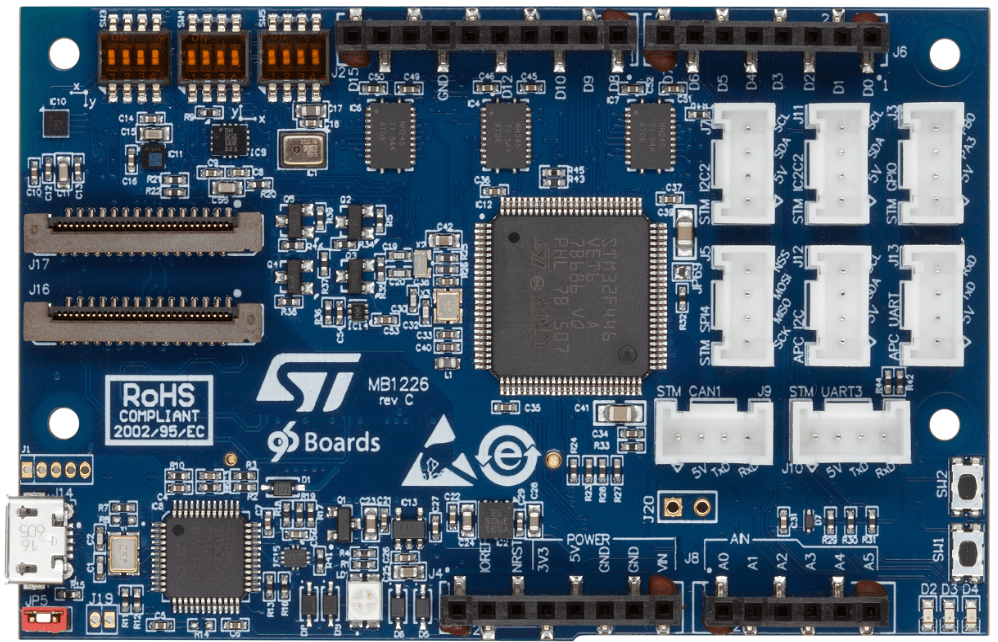 96Boards STM32 Sensor Mezzanine — Zephyr Project Documentation