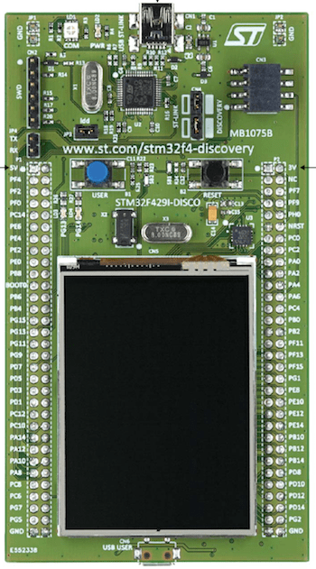 ST STM32F429I-DISC1 Discovery board — Zephyr Project Documentation